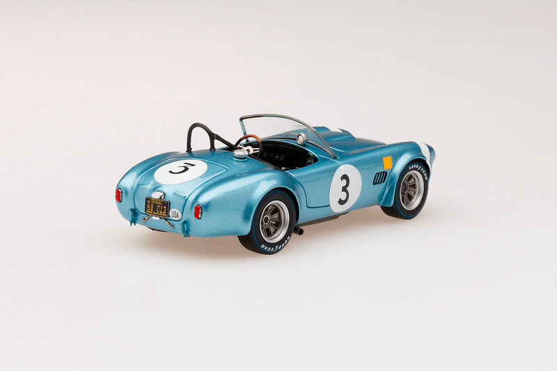 Shelby Cobra 289 (1964 Spa 500KM) | 1:43-scale model car by TSM | Rear Quarter