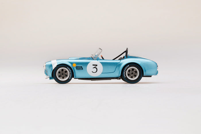 Shelby Cobra 289 (1964 Spa 500KM) | 1:43-scale model car by TSM | Profile view