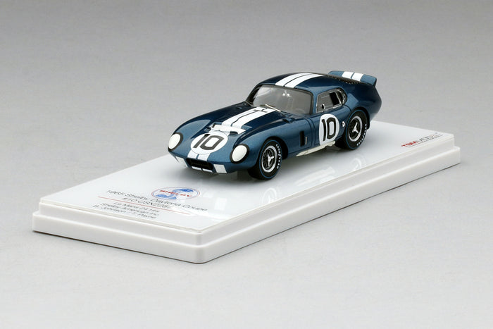 Shelby Cobra Daytona Coupe (CSX2287, 1965 Le Mans) | 1:43 Scale Model Car by TSM | Display Base