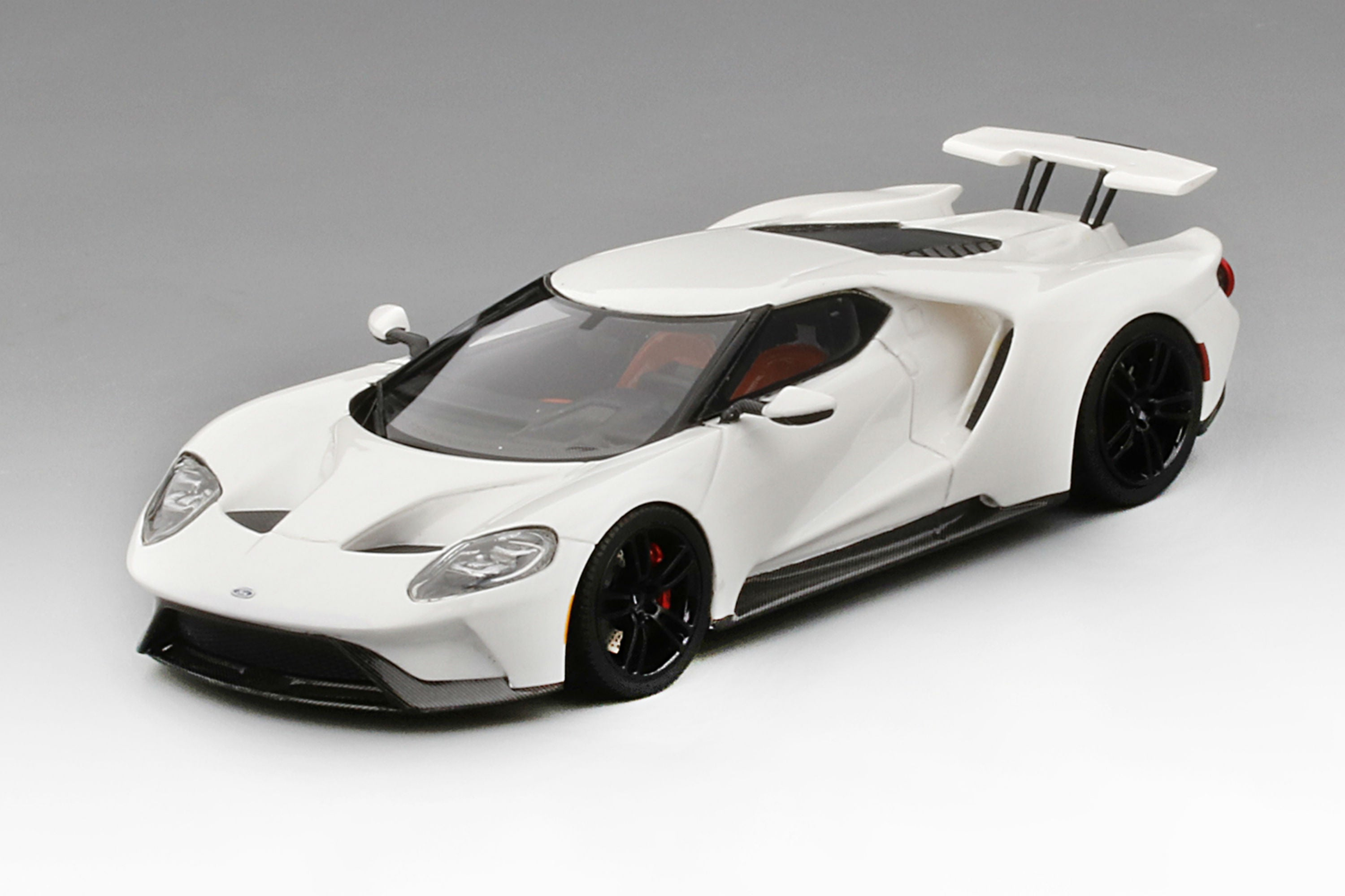 Ford Gt Race Mode  Scale Model Car By