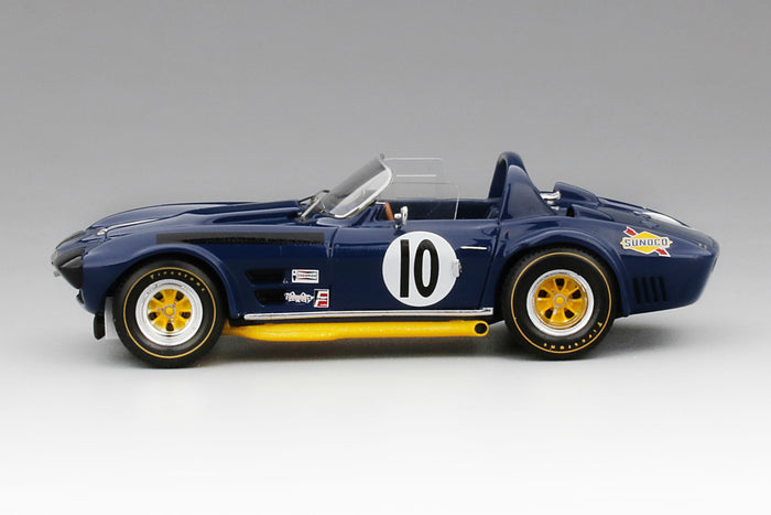 Chevrolet Corvette Grand Sport Roadster (1966 12 Hours of Sebring) | 1:43 Scale Model Car by TSM | Profile