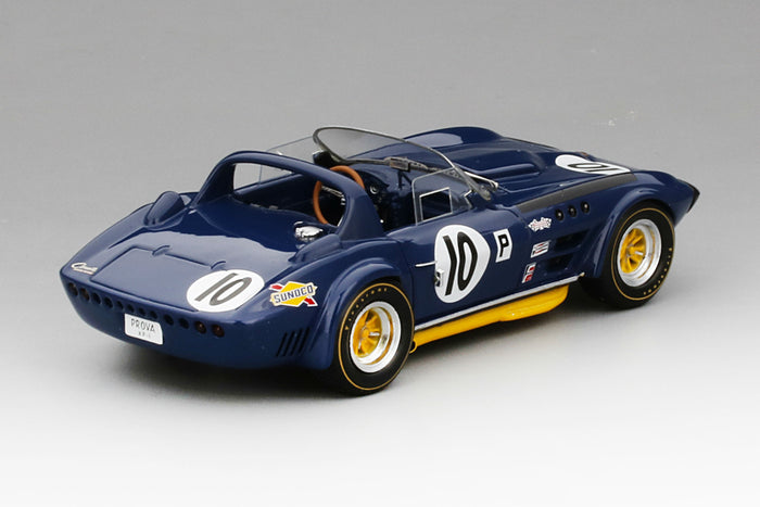 Chevrolet Corvette Grand Sport Roadster (1966 12 Hours of Sebring) | 1:43 Scale Model Car by TSM | Rear Quarter