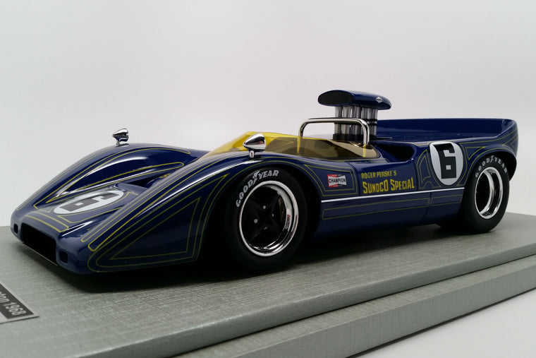 McLaren M6B (1968 Bridgehampton Can-Am Winner) - 1:18 Scale Model Car