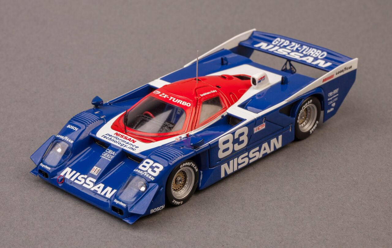 Nissan GTP ZX-Turbo 1990 Sebring Winner | 1:43-Scale Model Car by Spark | Front Quarter