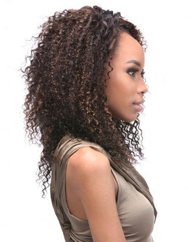 Curly Indian 10 12 12 14 Inch 4pc Weave 100 Human Hair By Duvessa