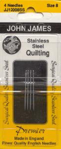 John James Stainless Steel Between / Quilting Needles