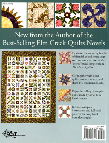 Sylvia's Bridal Sampler From Elm Creek Quilts – Quilting Books ... : elm creek quilts series order - Adamdwight.com