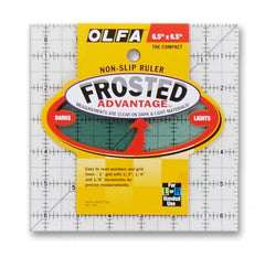Frosted Acrylic Olfa Ruler