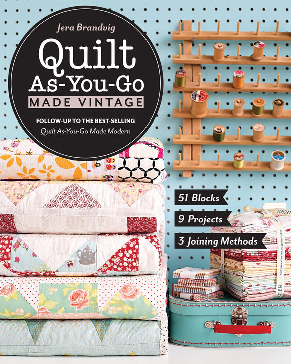 Quilt As You-Go Made Vintage