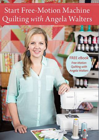 Start Free-Motion Quilting with Angela Walters - DVD