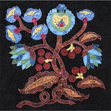 Jacobean Arbor Machine Embroidery CD