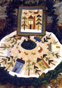 Christmas Tree Skirt or Wall Quilt