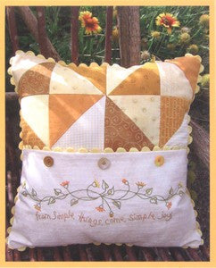 Simple Joys of Autumn Pillow
