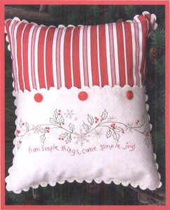 Simple Joys of Winter Pillow