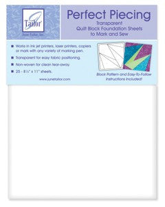 Quilt Block Foundation Sheets