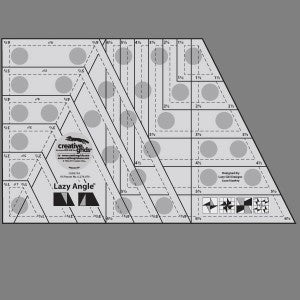 Creative Grid Lazy Angle Ruler 6.5in x 10.5in