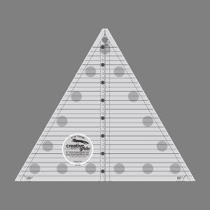 Creative Grids Quilting Ruler 60 degree Triangle