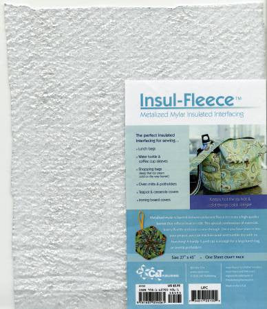 Insul-Fleece Insulated Interfacing - 1 Sheet Craft Pack 27in x 45in