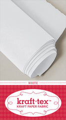 Kraft-tex Roll White 19in x 1-1/2 yard roll