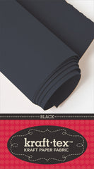 Kraft-tex Roll Black 19in x 1-1/2 yard roll