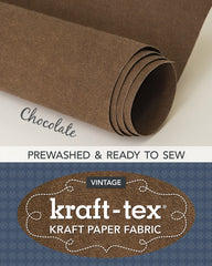 Kraft-tex Roll Chocolate Prewashed