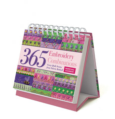Embroidery Combinations Perpetual Calendar