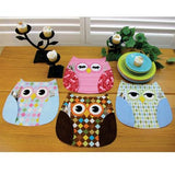 Who's Place Owl Place Mats