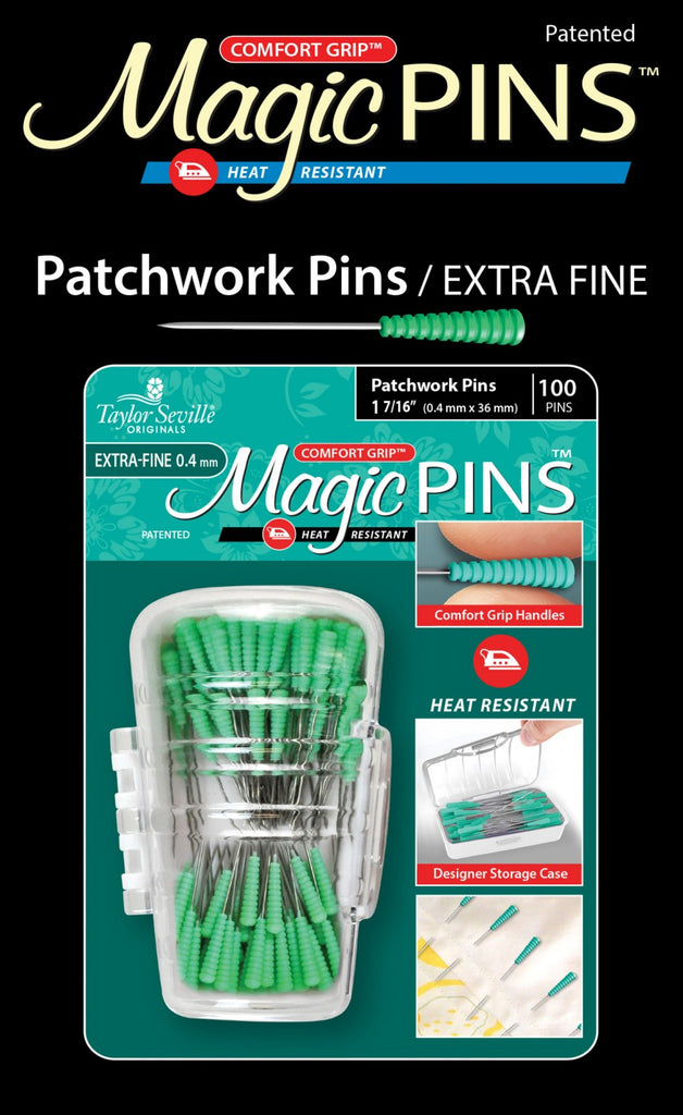 Magic Pins Patchwork Extra Fine 100pc