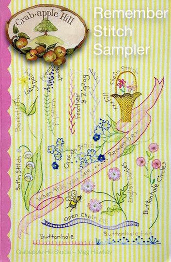 Remember Stitch Sampler
