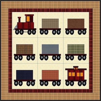 All Aboard! Quilt Pattern