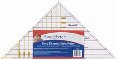 Easy Set Diagonal Triangle Ruler