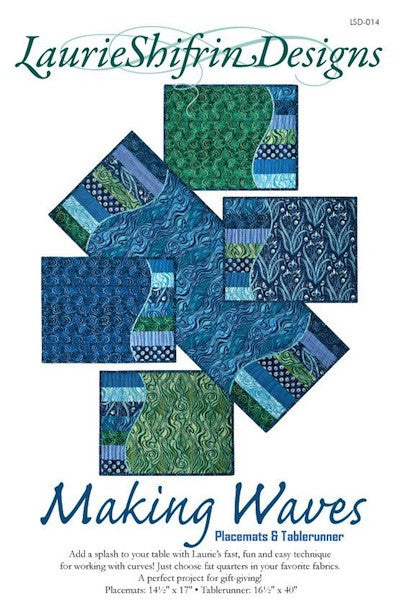 Making Waves Tablerunner & Placemats