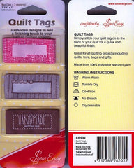 Quilt Tags Set of 3 Handmade