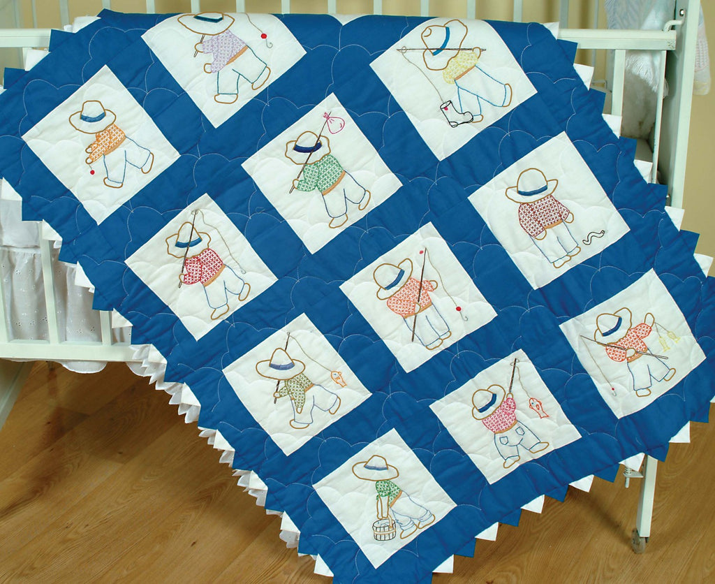 Quilt Block Set Little Boys