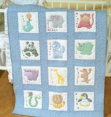 Quilt Block Set Childrens Zoo