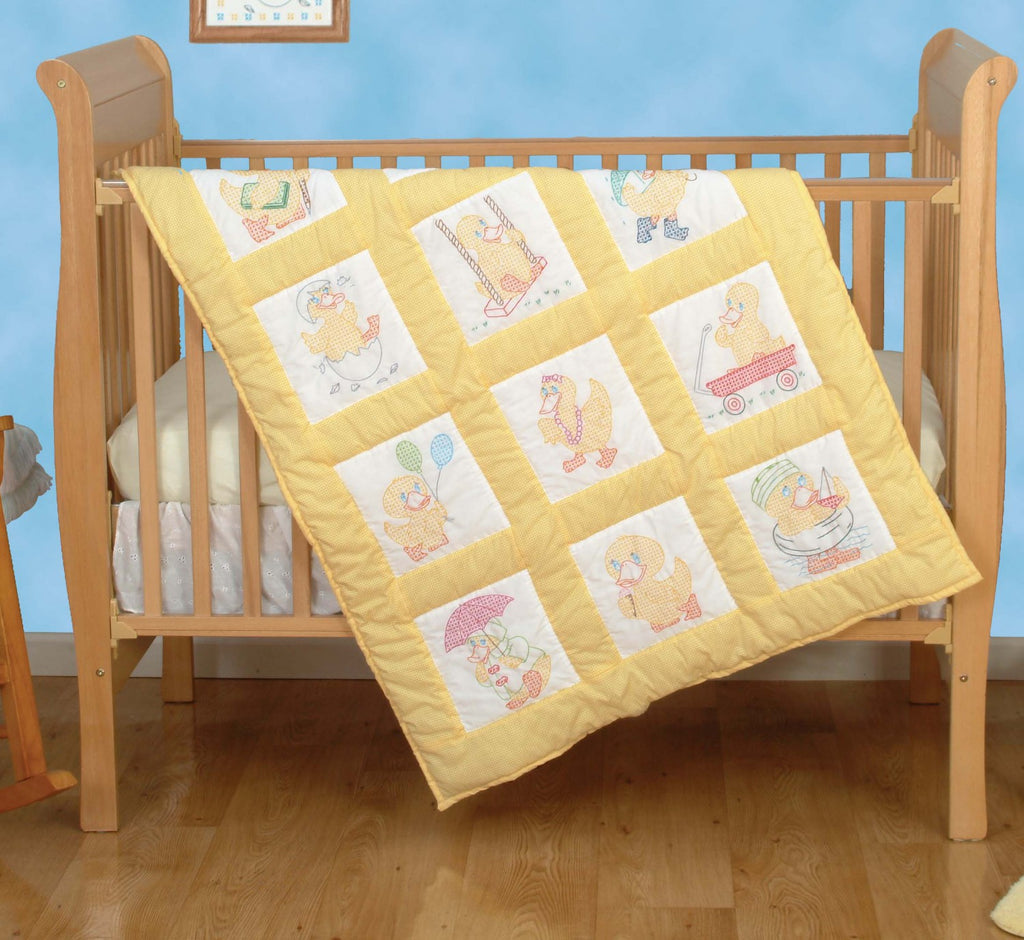 Baby Ducks Quilt Block Set