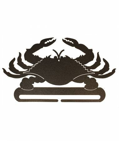 8in Split Bottom Holder Crab Charcoal