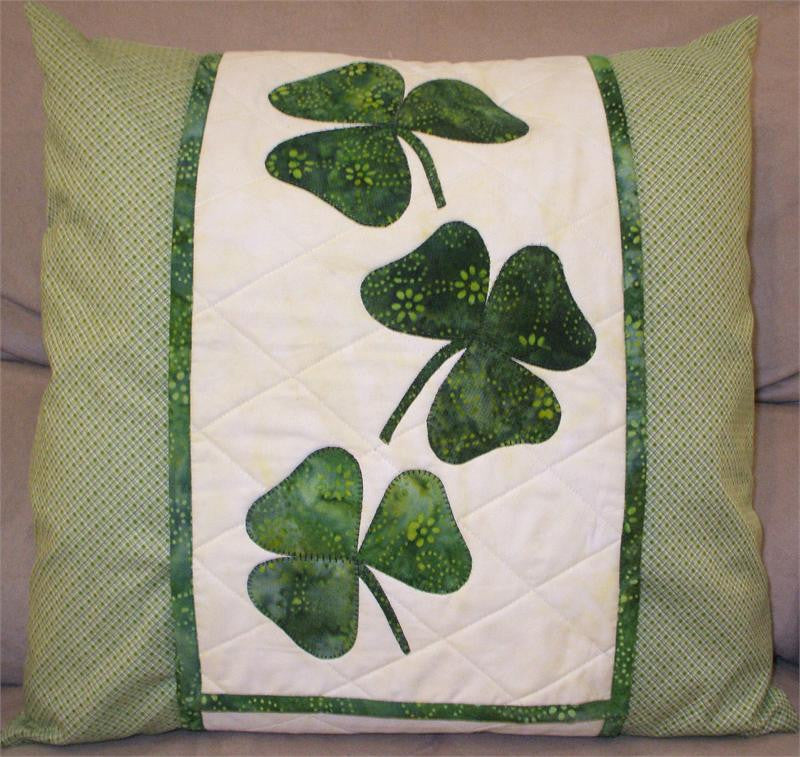 Shamrocks Pillow Wrap