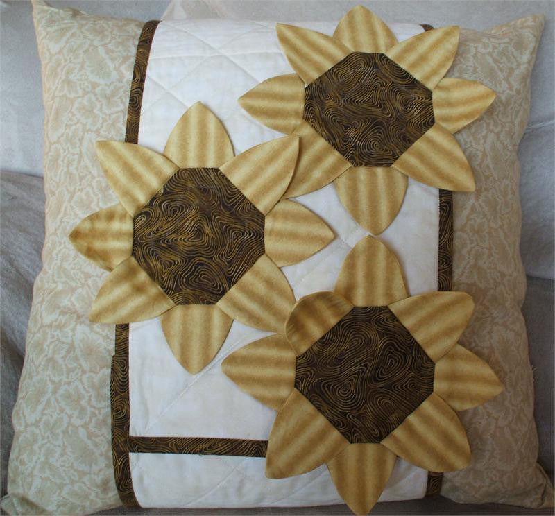 Sunflowers Pillow Wrap