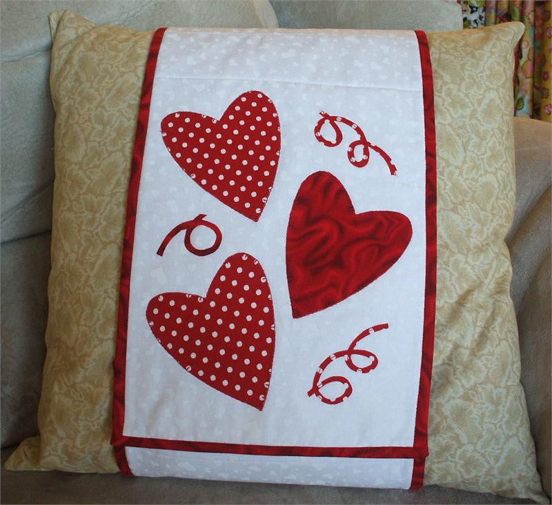 Hearts Pillow Wrap