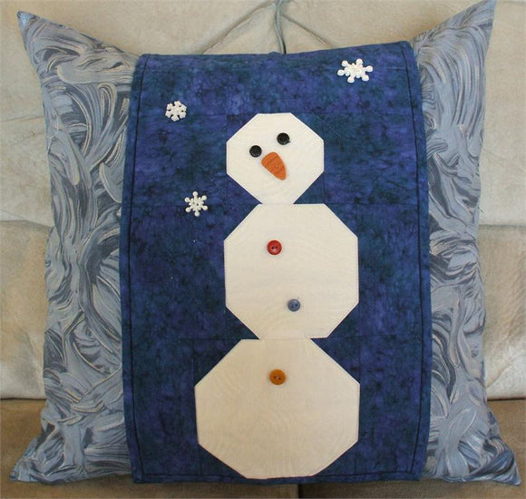 Snowman Pillow Wrap