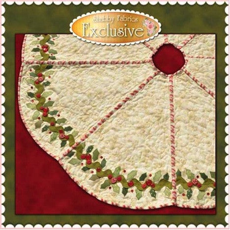 Holly & Berries Tree Skirt