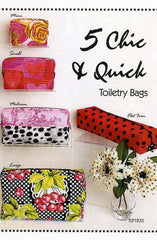 5 Chic & Quick Toiletry Bags