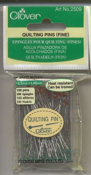 Quilting Fine Pin