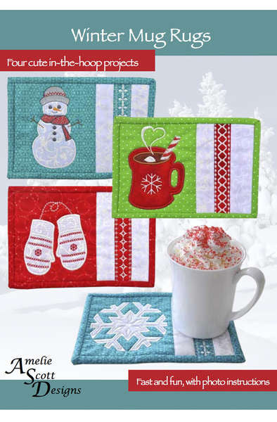 Winter Mug Rugs