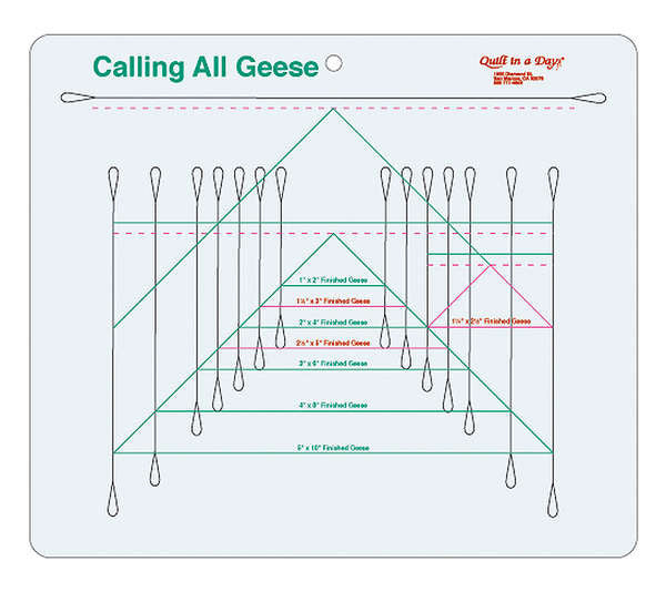 Calling All Geese Ruler