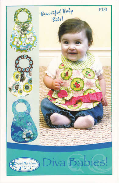 Diva Babies - Beautiful Baby Bibs