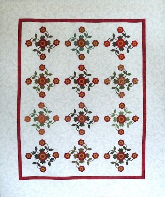 Antique Rose Quilt