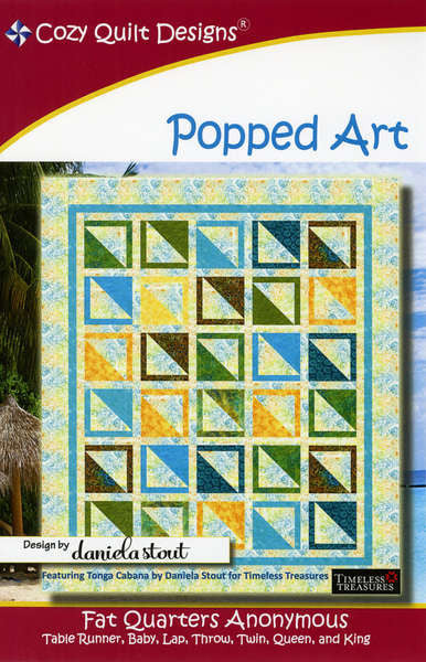 Fat Quarter Anonymous - Popped Art