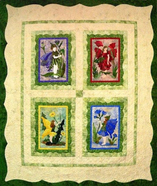 The Flower Fairy Quilt